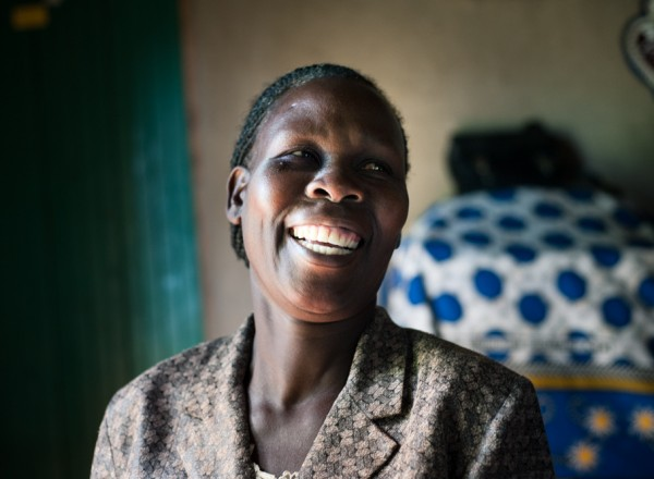 Anne at home in Chwele, Kenya.  Photo: Hailey Tucker